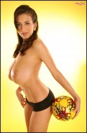 Jana Defi Huge Boobs in Very Tight Tshirt 027