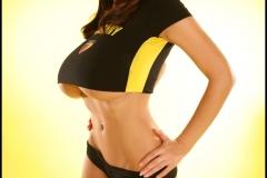 Jana Defi Huge Boobs in Very Tight Tshirt 011