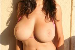 Jana Defi Huge Tit Pink Bikini Babe 019
