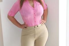Janey Buckingham Huge Tits and Jodhpurs 01