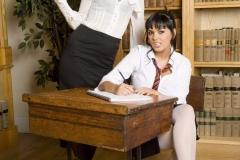 Jasmine Black Huge Boob Sex Class in Uniform 001