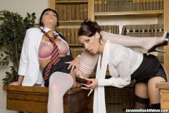 Jasmine Black Huge Boob Sex Class in Uniform 012