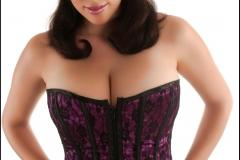 Jelena Jensen Big Boobs in Purple Corset 001