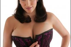 Jelena Jensen Big Boobs in Purple Corset 007