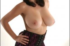 Jelena Jensen Big Boobs in Purple Corset 016