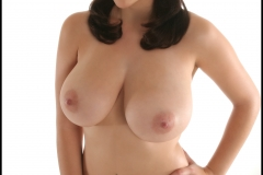 Jelena Jensen Big Tits in Frilly Blue Bra and Panties 017