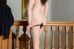 Jessica-Ann Fegan Strips Out of Her School Uniform 014