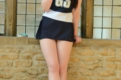Jessica-Ann Fegan Strips Out of Netball Uniform 03
