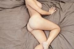 Jessica Workman Big Tits White Bra and Panties 13