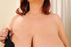 Joanna Bliss Huge Tits in a Black Bra 006