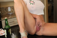 Jodi West Big Boobs Tight White Shirt and Tight Skirt 016