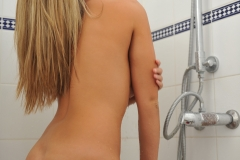 Jodie Gasson Big Boobs Takes off Dress for Shower 22