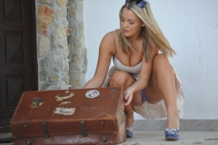 Jodie Gasson Big Tits on Holiday 53