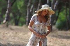 Jodie Gasson Sexy Body In Floaty Dress 15
