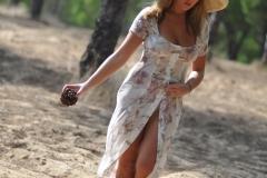 Jodie Gasson Sexy Body In Floaty Dress 17