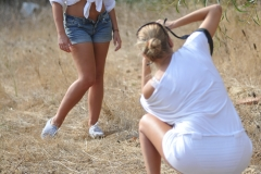 Jodie Gasson Tits and Shorts 01