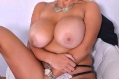 Katie Thornton Huge Tits and Tight Miniskirt 008