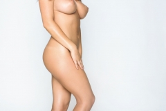 Kelly Hall Big Tits Standing Naked 01