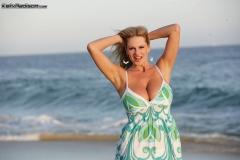 Kelly Madison Boobs Huge in summer dress 00