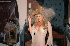 Kelly Madison Huge Tit White Witch in Costume 001