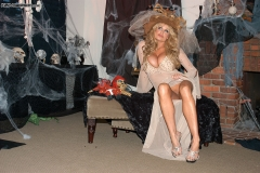 Kelly Madison Huge Tit White Witch in Costume 007