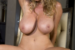 Kelly Madison Huge Tits in Red Minidress 013