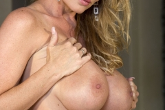 Kelly Madison Huge Tits in Red Minidress 016