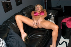 Kelly Madison Huge Tits Pink Silky Lingerie 008