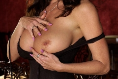 Kelly Madison Huge Tits Smoking Hot Black Dress 006