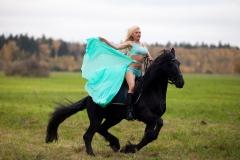 Kitana Lure Big Boob Amazon on a Horse 011