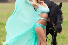 Kitana Lure Big Boob Amazon on a Horse 020