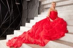Kitana Lure Big Boob Blonde in Formal Gowns 001