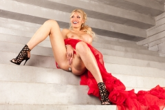 Kitana Lure Big Boob Blonde in Formal Gowns 015