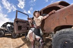 Kleio Valentien Big Tit Desert Lesbian Warrior 006