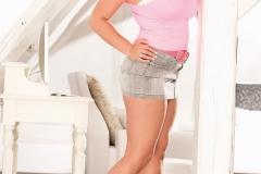 Krystal Swift Huge Tit Miniskirt Babe 002