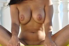 Lacey Banghard Big Tits Colourful Bikini 11