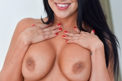 Lacie James Big Boobs Get Naked out of Black Minidress 016