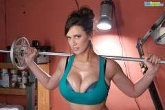 Lana Kendrick Big Boobs Workout 08