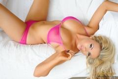 Leah Frances Big Tits Pink Bra and Panties 01