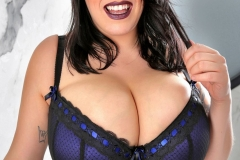 Leanne Crow Huge Boobs Get Naked from Midnight Blue Bra 007