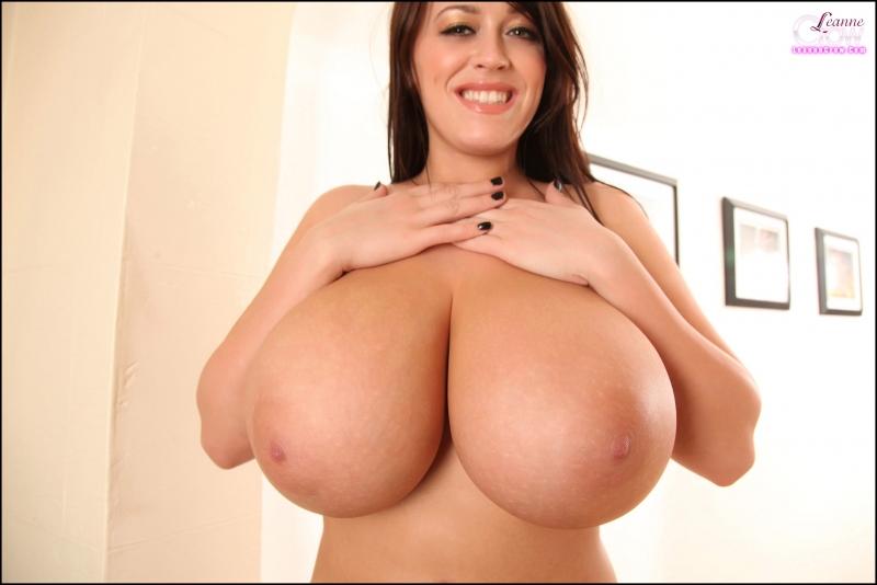 Leanne-Crow-Huge-Boobs-in-Formal-Black-Tie-bra-011