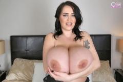 Leanne Crow Huge Tits in Black Nighty 013