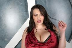 Leanne-Crow-Huge-Tits-in-Red-Silky-Top-001