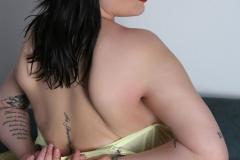 Leanne Crow Huge Tits Yellow Sheer Bra and Panties 017