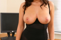 Lindsey Strutt Big Boobs Stocking Secretary 08