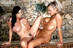 Linsey Dawn McKenzie and Ines Cudna in Big Breast Duet 009