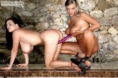 Linsey Dawn McKenzie and Ines Cudna in Big Breast Duet 015