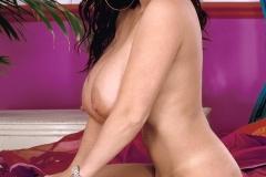 Linsey Dawn McKenzie Huge Boobs Black Lacy Bra 014