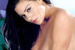 Linsey Dawn McKenzie Huge Boobs in Silky Pink Bra 011