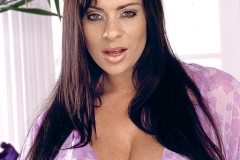 Linsey Dawn McKenzie Huge Breasts in a Lilac Nightie 001